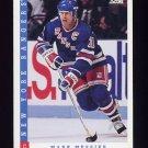 1993-94 Score Hockey #200 Mark Messier - New York Rangers