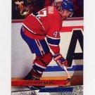 1993-94 Ultra Hockey #241 Stephan Lebeau - Montreal Canadiens