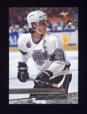 1993-94 Ultra Hockey #208 Luc Robitaille - Los Angeles Kings