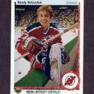 1990-91 Upper Deck Hockey #392 Randy Velischek - New Jersey Devils