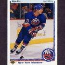 1990-91 Upper Deck Hockey #388 Alan Kerr - New York Islanders