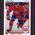 1990-91 Upper Deck Hockey #384 Mike McPhee - Montreal Canadiens