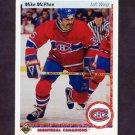 1990-91 Upper Deck Hockey #384 Mike McPhee - Montreal Canadiens