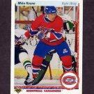1990-91 Upper Deck Hockey #382 Mike Keane RC - Montreal Canadiens