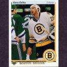 1990-91 Upper Deck Hockey #379 Garry Galley RC - Boston Bruins