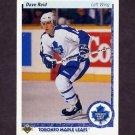 1990-91 Upper Deck Hockey #364 Dave Reid RC - Toronto Maple Leafs