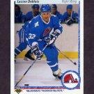 1990-91 Upper Deck Hockey #363 Lucien DeBlois - Quebec Nordiques