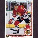 1990-91 Upper Deck Hockey #339 Wayne Presley - Chicago Blackhawks