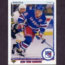 1990-91 Upper Deck Hockey #296 Kelly Kisio - New York Rangers