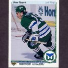 1990-91 Upper Deck Hockey #270 Dave Tippett - Hartford Whalers