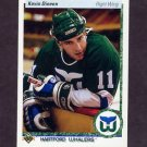 1990-91 Upper Deck Hockey #266 Kevin Dineen - Hartford Whalers
