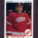 1990-91 Upper Deck Hockey #257 Dave Barr - Detroit Red Wings