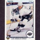 1990-91 Upper Deck Hockey #233 Todd Elik RC - Los Angeles Kings