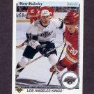 1990-91 Upper Deck Hockey #212 Marty McSorley - Los Angeles Kings