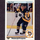 1990-91 Upper Deck Hockey #197 Tony Tanti - Pittsburgh Penguins