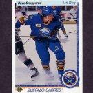 1990-91 Upper Deck Hockey #189 Dave Snuggerud RC - Buffalo Sabres