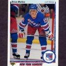 1990-91 Upper Deck Hockey #182 Brian Mullen - New York Rangers