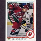 1990-91 Upper Deck Hockey #180 Mark Johnson - New Jersey Devils