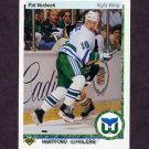 1990-91 Upper Deck Hockey #172 Pat Verbeek - Hartford Whalers