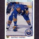 1990-91 Upper Deck Hockey #168 Mike Ramsey - Buffalo Sabres