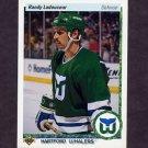 1990-91 Upper Deck Hockey #151 Randy Ladouceur - Hartford Whalers