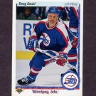 1990-91 Upper Deck Hockey #105 Doug Smail - Winnipeg Jets