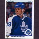1990-91 Upper Deck Hockey #083 Tom Fergus - Toronto Maple Leafs