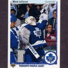 1990-91 Upper Deck Hockey #081 Mark LaForest RC - Toronto Maple Leafs
