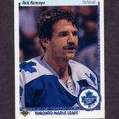 1990-91 Upper Deck Hockey #062 Rob Ramage - Toronto Maple Leafs