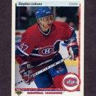 1990-91 Upper Deck Hockey #051 Stephan LeBeau RC - Montreal Canadiens
