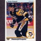 1990-91 Upper Deck Hockey #033 Zarley Zalapski - Pittsburgh Penguins