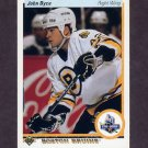 1990-91 Upper Deck Hockey #025 John Byce RC - Boston Bruins