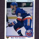 1990-91 Upper Deck Hockey #020 Don Maloney - New York Islanders