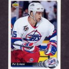 1992-93 Upper Deck Hockey #312 Pat Elynuik - Winnipeg Jets