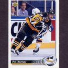 1992-93 Upper Deck Hockey #141 Phil Bourque - Pittsburgh Penguins