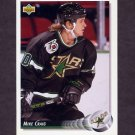 1992-93 Upper Deck Hockey #065 Mike Craig - Minnesota North Stars