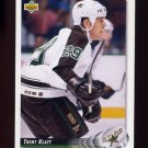 1992-93 Upper Deck Hockey #062 Trent Klatt RC - Minnesota North Stars