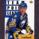 1993-94 Upper Deck Hockey #287 Pat LaFontaine TL - Buffalo Sabres