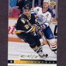 1993-94 Upper Deck Hockey #230 Kevin Stevens 100 - Pittsburgh Penguins