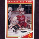 1991-92 O-Pee-Chee Hockey Inserts #29R Central Red Army Team