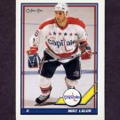 1991-92 O-Pee-Chee Hockey #483 Mike Lalor - Washington Capitals