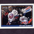 1991-92 O-Pee-Chee Hockey #412 New York Islanders Team