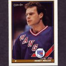 1991-92 O-Pee-Chee Hockey #371 Randy Moller - New York Rangers