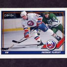 1991-92 O-Pee-Chee Hockey #343 Pat Flatley - New York Islanders