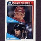 1991-92 O-Pee-Chee Hockey #322 Theo Fleury / Marty McSorley