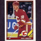 1991-92 O-Pee-Chee Hockey #320 Gary Roberts - Calgary Flames