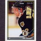 1991-92 O-Pee-Chee Hockey #319 Don Sweeney - Boston Bruins