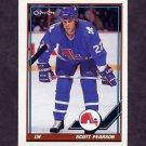 1991-92 O-Pee-Chee Hockey #297 Scott Pearson - Quebec Nordiques