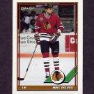 1991-92 O-Pee-Chee Hockey #293 Mike Peluso - Chicago Blackhawks