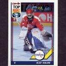 1991-92 O-Pee-Chee Hockey #290 Olaf Kolzig - Washington Capitals